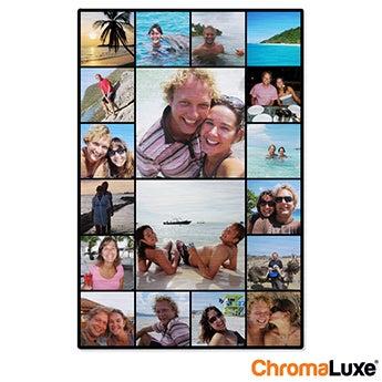 Chromaluxe Aluminium photo - Brushed - 30x40cm