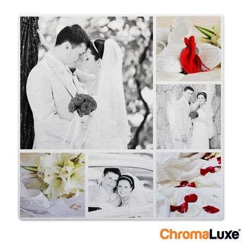 Collage de fotos de Instagram - Cepillado - 40x40cm