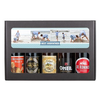 Godfather beer gift set - Belgian