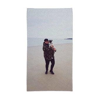 Håndklæde med heldækkende print – 50 x 100 cm