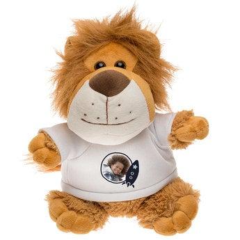 Léo le Lion en Peluche