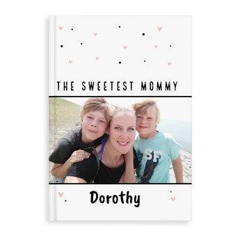 Livro de receitas do Dia das Mães - A4 - Hardcover