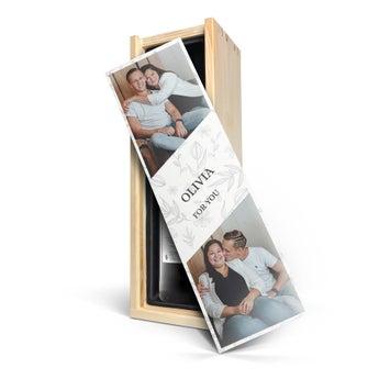 Maison de la Surprise Cabernet Sauvignon - In personalised wooden case