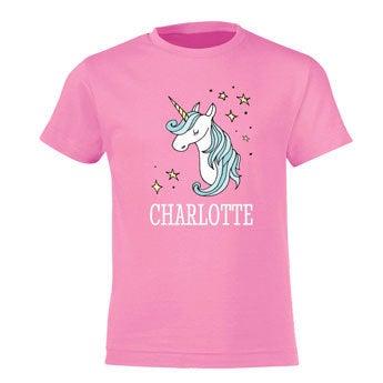 T-Shirt Kinder - Rosa - 2 Jahre