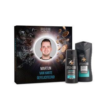 Axe geschenkset - Bodywash & deodorant - L&C