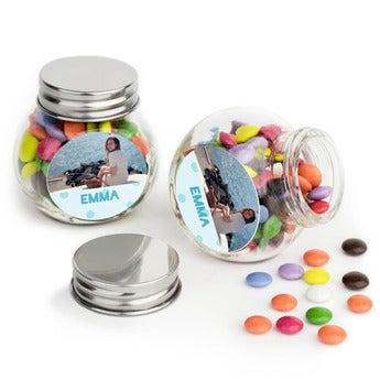 Chokolader i glas – sæt à 40 stk.