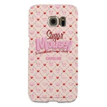 Pouzdro Sugar Mousey - hrana Galaxy S6 - 3D tisk
