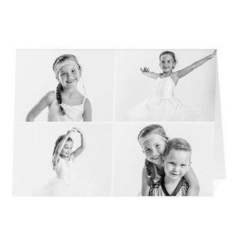 Fényképkártya - XL - Vízszintes