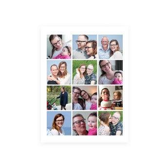 Mor og mig – Plakat med billedkollage (40 x 50)