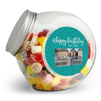 Üveg édességekkel - Dutch Blend