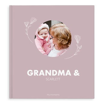 Fotoalbum - Babička a já / Us - XL - HC (40)
