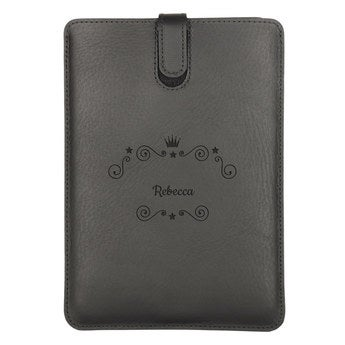 iPad Mini 3 læderetui - sort