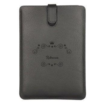 Skórzane etui na iPada Mini 3 - czarne