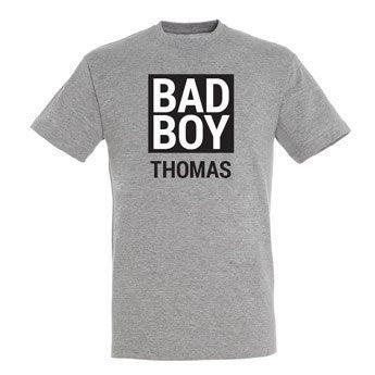 T-Shirt Herren - Grau - L