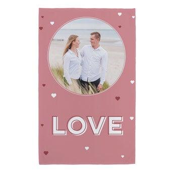 Plaid personalizzato - San Valentino