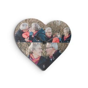 Zegar dla babci - małe serce