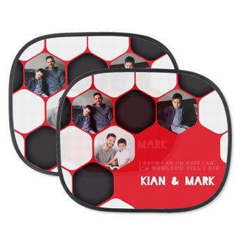 World Cup car window sun shades