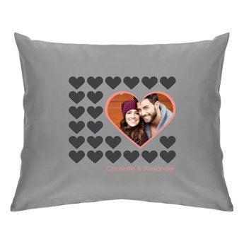 Cushion case - Light grey - 50 x 60 cm
