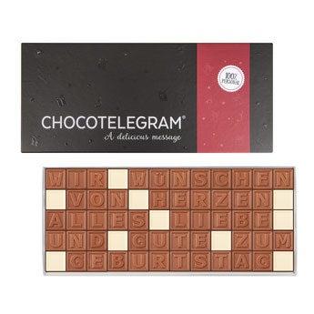Chocotelegram - 5x12 Buchstaben