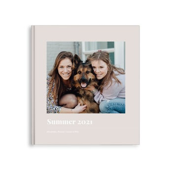 Album photo personnalisé - Couverture rigide (40)