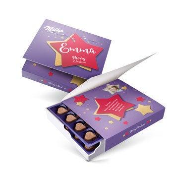 Say it with Milka gift box - Christmas (220 grams)