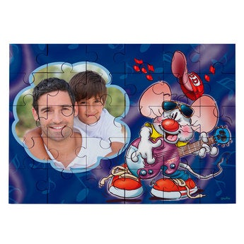 Personalised jigsaw puzzle - Doodles - 30 pcs