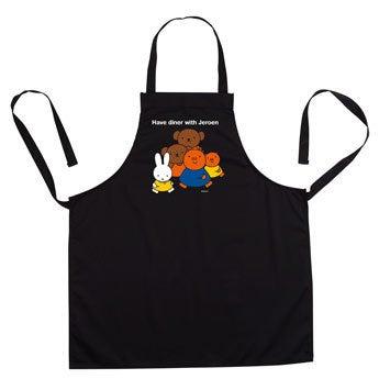 Delantal de cocina miffy - Negro