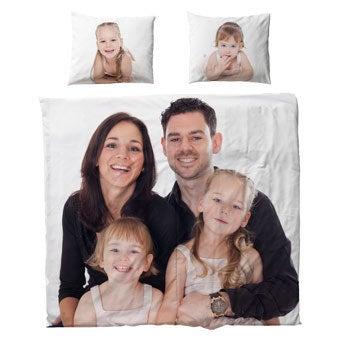 Personligt sengetøj - polyester - 220x200 cm