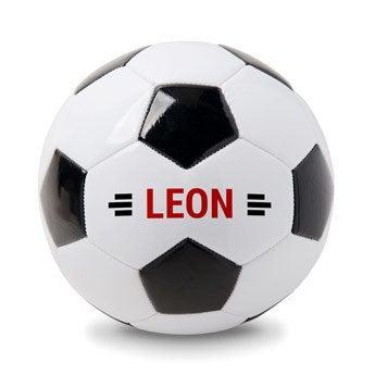 Fußball personalisieren mit Namen