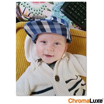 Chromaluxe Aluminium foto - Hvid - 10x15 cm