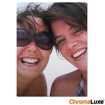 Chromaluxe Aluminium photo - Brushed - 20x30cm
