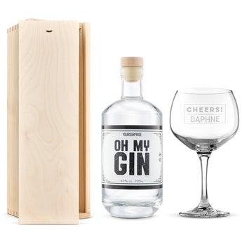 YourSurprise-gin - Presentset med glas