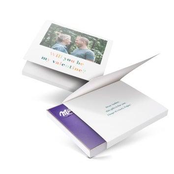 Eu amo Milka - giftbox - Amor (110 gramas)