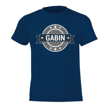 T-shirt - Enfant - Marine - 10 ans