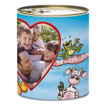Doodles tin of sweets - Dutch liquorice