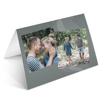 Fényképkártya - M - Vízszintes