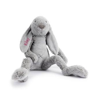 Personalised Big Rabbit Richie - Grey