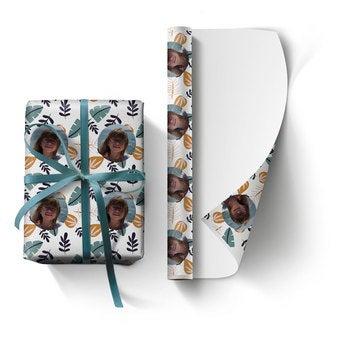 Gepersonaliseerd cadeaupapier (L)