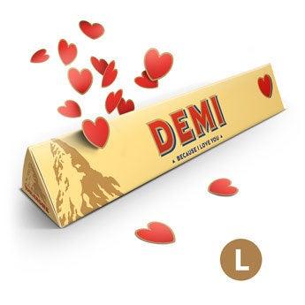 Toblerone personnalisé - Amour - 360 g