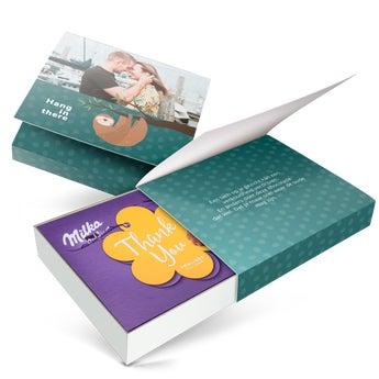 Milka giftbox - Algemeen (220 gram)