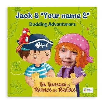 Jack & Madie - Pirates - Girls - Softcover