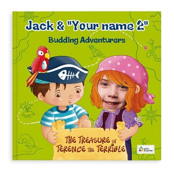 Jack & Madie - Pirates - Girls - Softcover