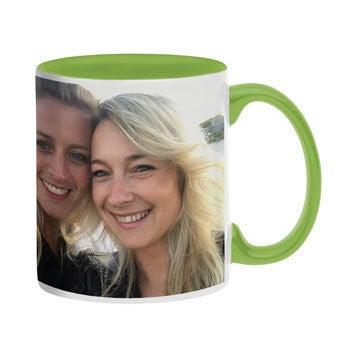 Tasse mit Foto - Grün