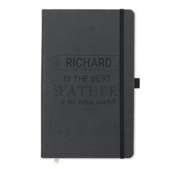 Quaderno papà - inciso - nero