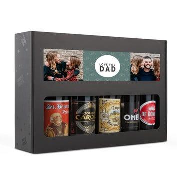 Apák napja sör ajándékkészlet - belga