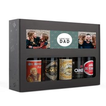Fars dag øl gave sæt - belgisk