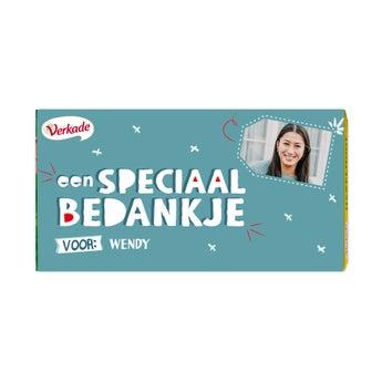 Verkade chocoladereep - All you need (Hazelnoot)