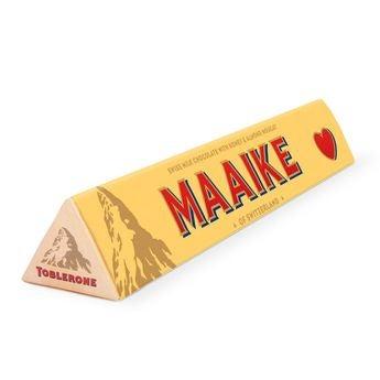 Szerelmes témájú Toblerone bár - 200 gramm