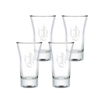 Shotglass (4 stykk)