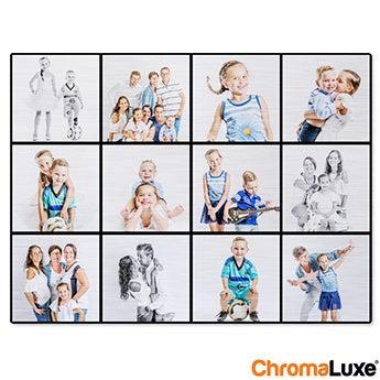 Chromaluxe Aluminium photo - Brushed - 20x15cm
